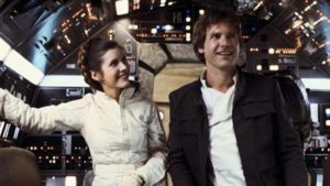 Carrie Fisher Harrison Ford cinematown.it