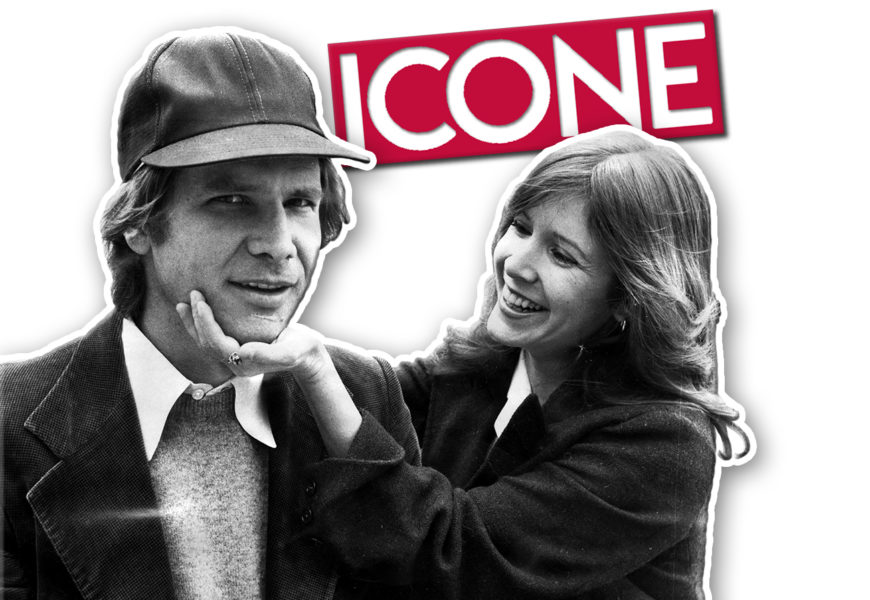 carrie fisher e harrison ford cinematown.it