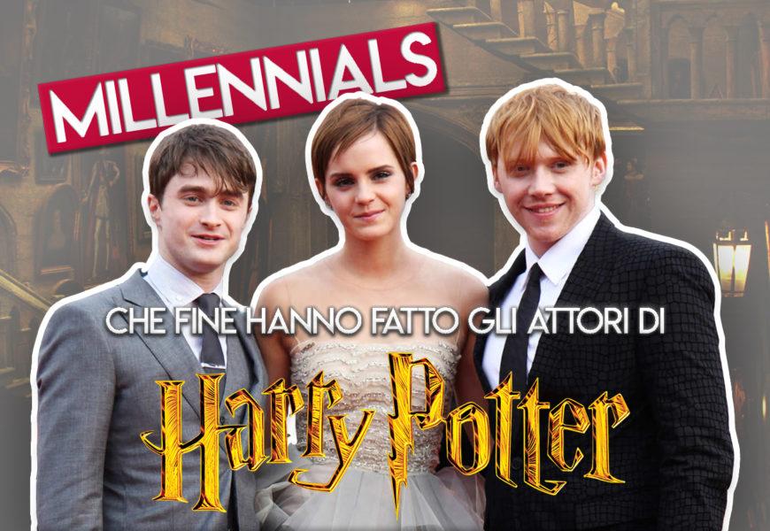 pretty nice 258b0 3ab27 Che fine hanno fatto gli attori di Harry Potter? - CinemaTown.it
