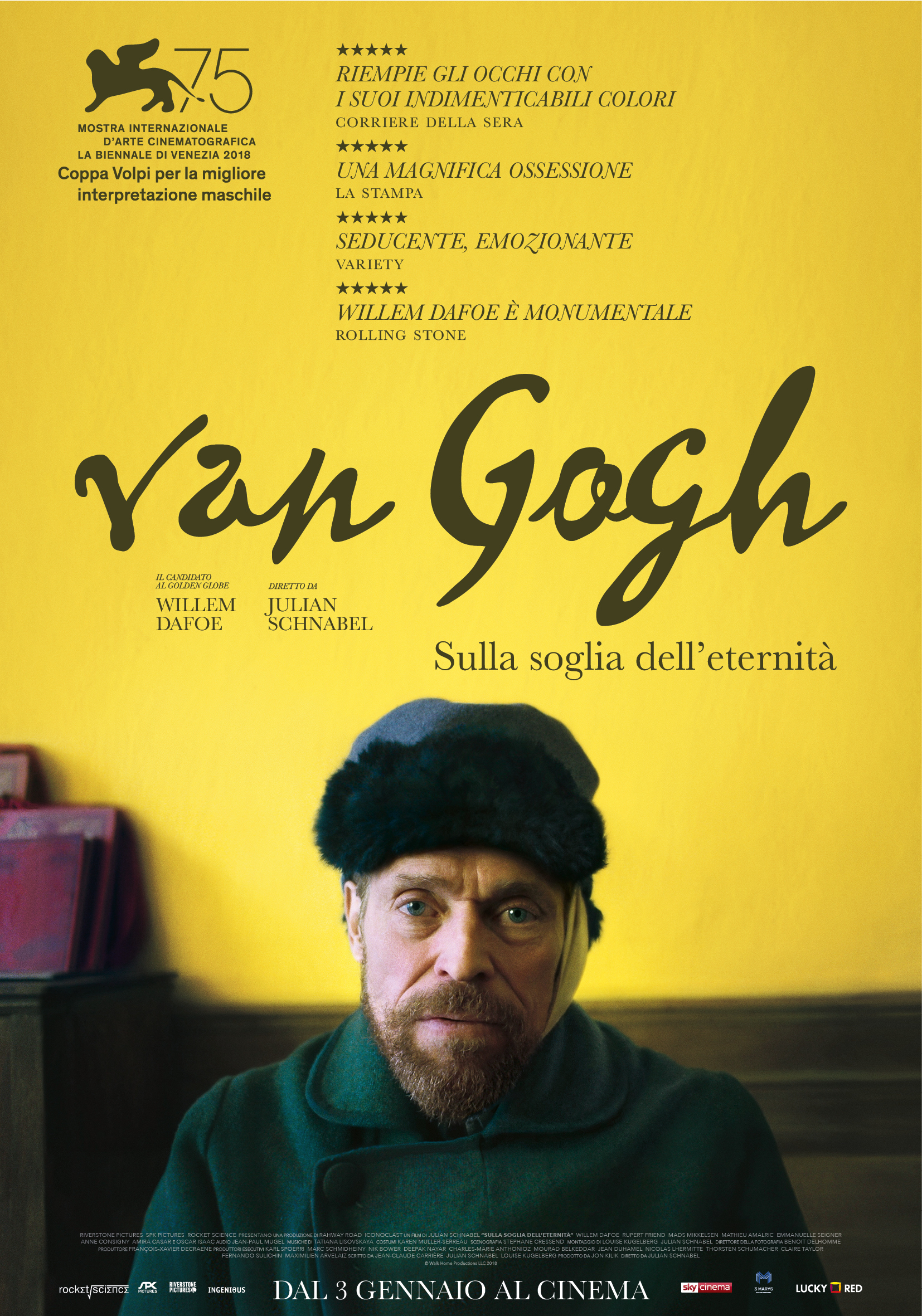Van Gogh - Sulla soglia dell'eternità cinematown.it
