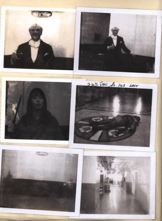 Shining Polaroid Stanley Kubrick Cinematown.it