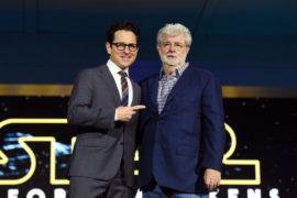 george lucas jj Abrams star wars cinematown.it