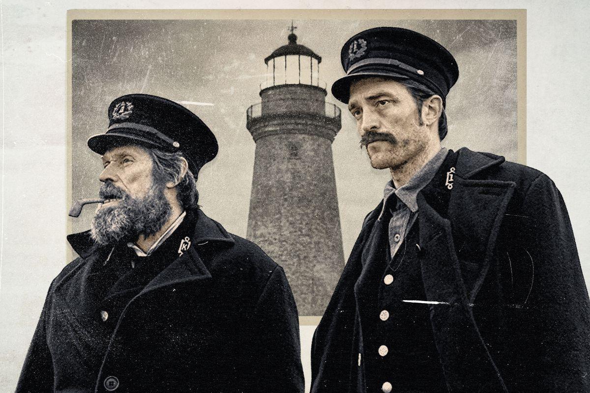 The Lighthouse, Robert Pattinson, Willem Dafoe, cinematown.it