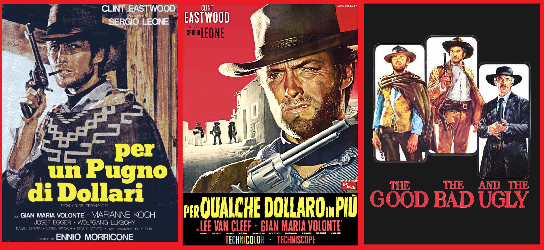 trilogia del dollaro, spaghetti western,cinematown.it