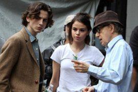 Woody Allen Timothée chalamet cinematown.it