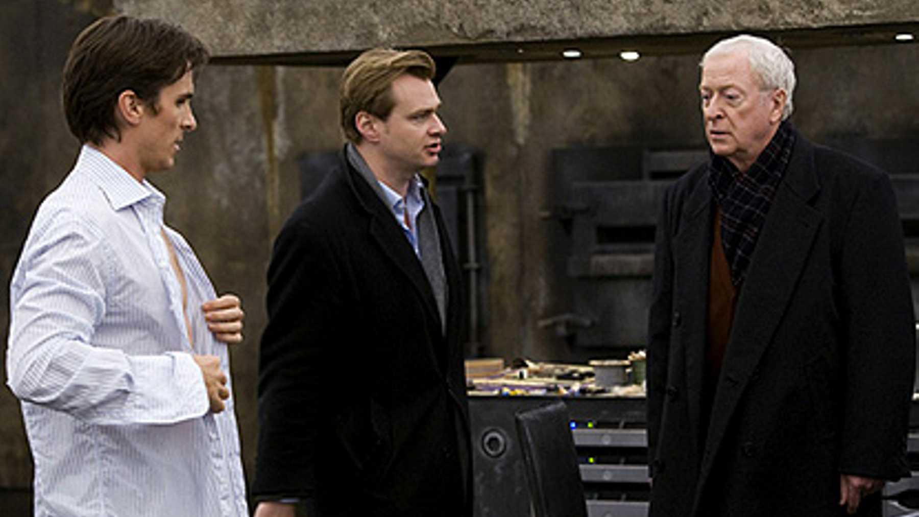 Michael Caine, Christopher Nolan, tenet, Dark Knight, cinematown.it