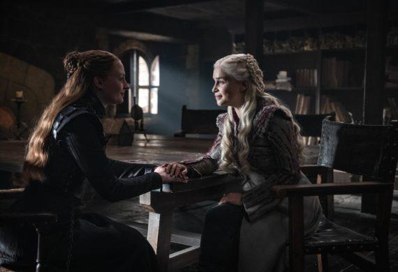 sansa stark Daenerys Targaryen Sophie turner cinema town.it