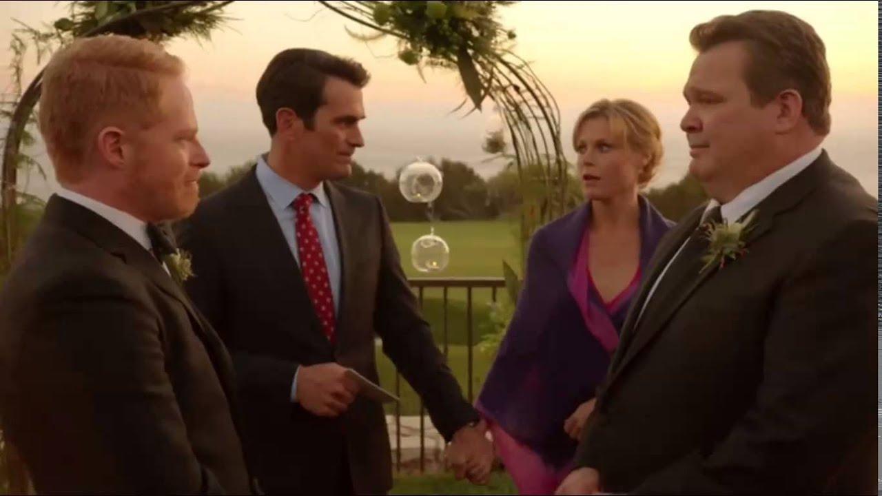 Modern Family, Cameron e Mitchell, matrimonio, cinematown.it