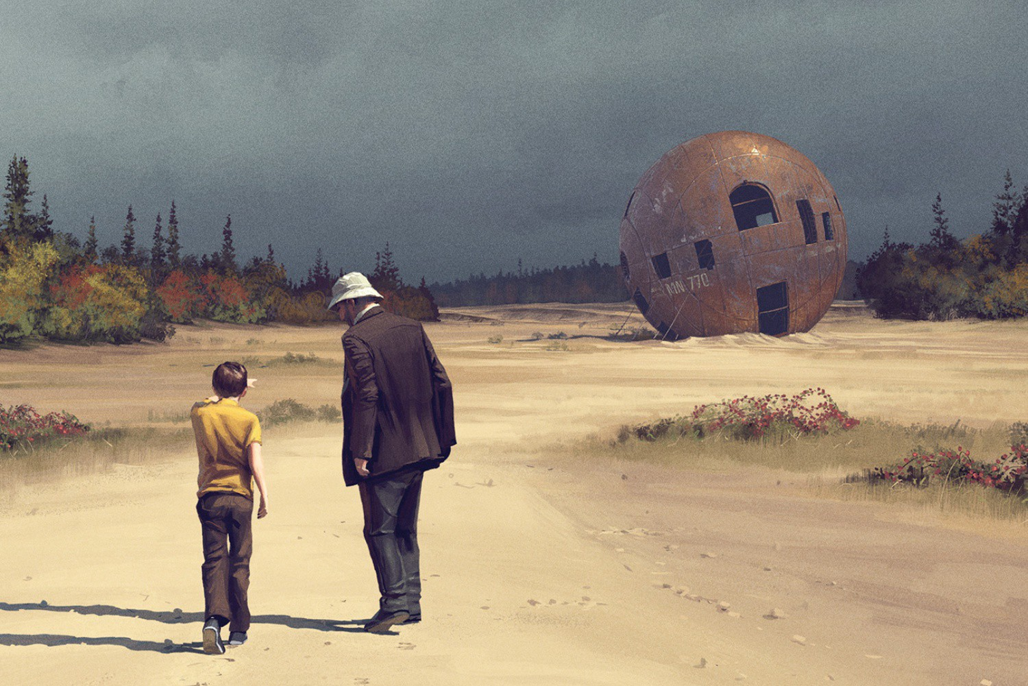 Tales from the Loop, prime video, Simon Stalenhag, cinematown.it