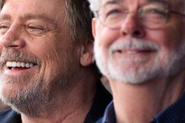 Mark Hamill, George Lucas, Star Wars, Il ritorno dello jedi, cinematown.it