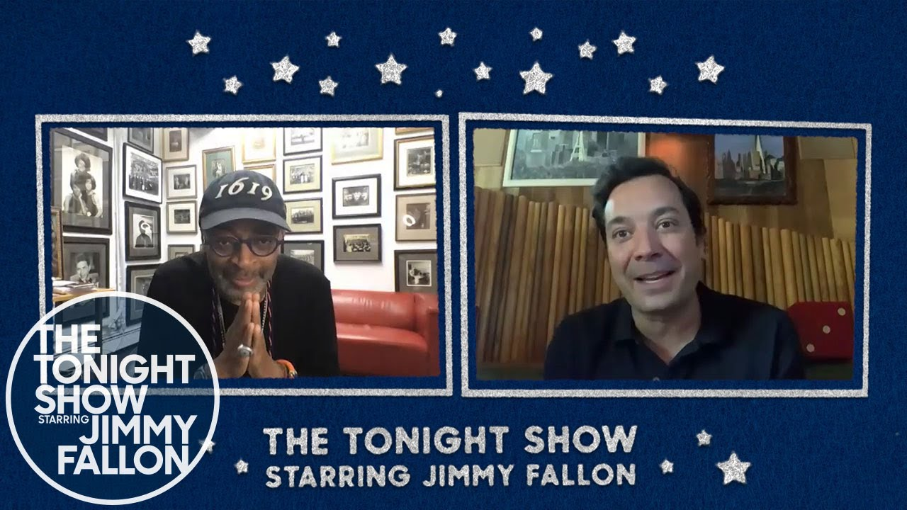 Spike Lee, Jimmy Fallon, Tonight Show, cinematown.it