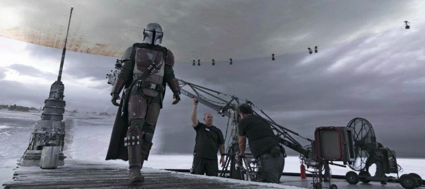 The Mandalorian, Stagecraft, cinematown.it
