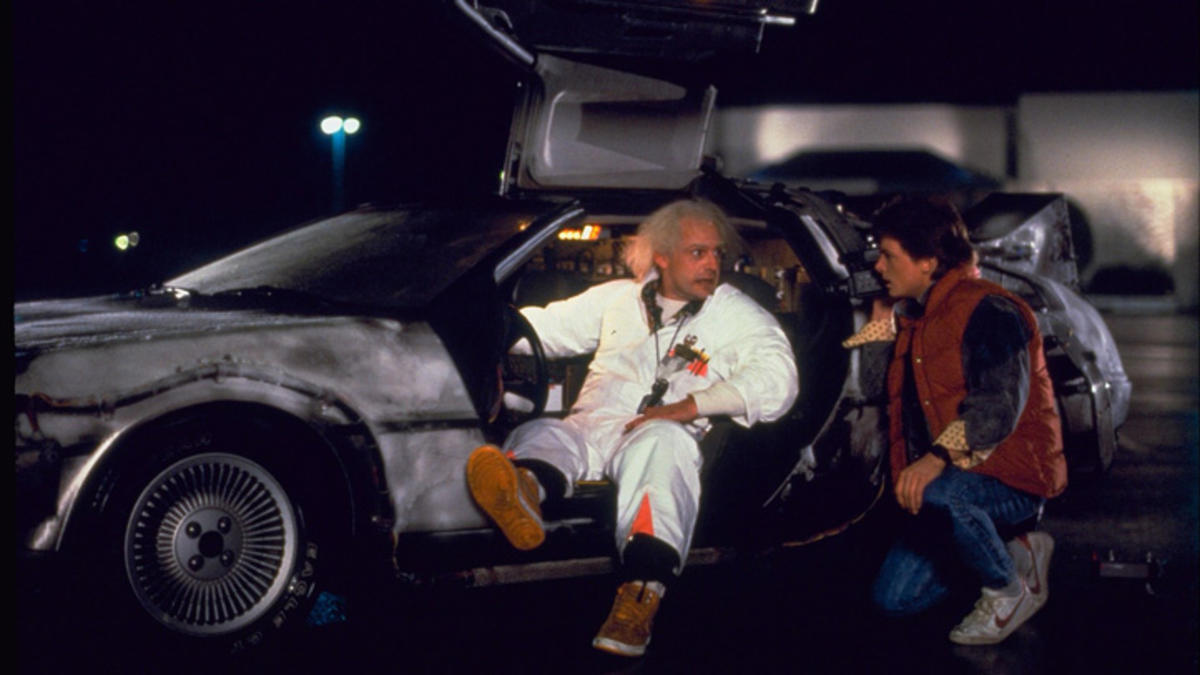 Ritorno al futuro, Delorean, cinematown.it